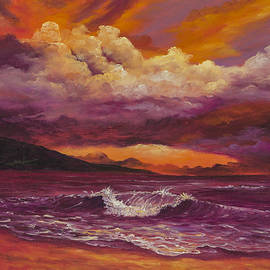 Sunset Over Lanai by Darice Machel McGuire