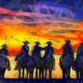 Sunset Riders by Carrie OBrien Sibley