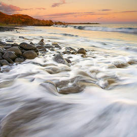 Sunset Tides by Mike  Dawson