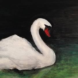 Swan 1 by Lavender Liu