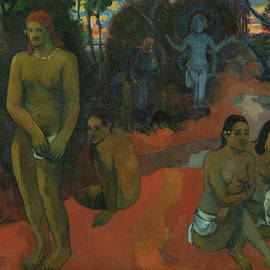 Te Pape Nave Nave by Paul Gauguin