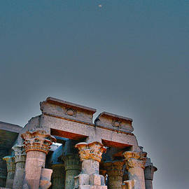Temple at Luxor by Cassandra Buckley
