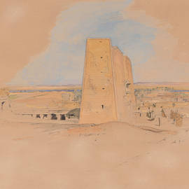Temple of Edfou, Upper Egypt - John Frederick Lewis