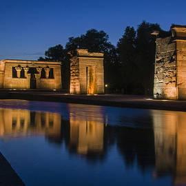 Templo De Debod by Ross G Strachan