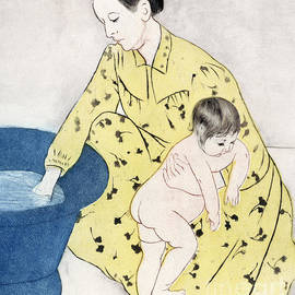 The Bath  - Mary Stevenson Cassatt
