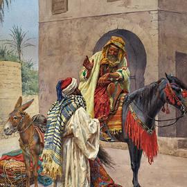 The carpet seller - Giulio Rosati