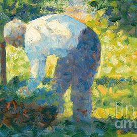 Georges Pierre Seurat - The Gardener