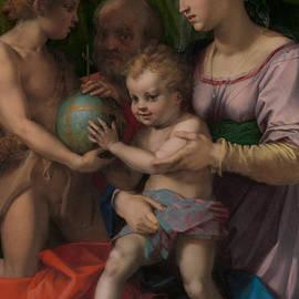 Andrea del Sarto - The Holy Family with the Young Saint John the Baptist
