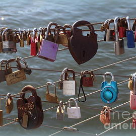 Dora Sofia Caputo Photographic Design and Fine Art - The Love Locks On The Brooklyn Bridge