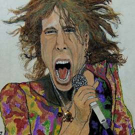 The madman of rock.Steven Tyler. by Ken Zabel