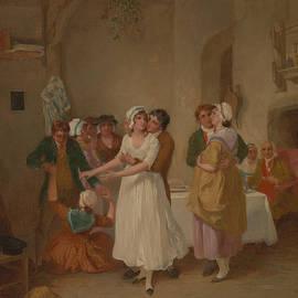 The Mistletoe Bough - Francis Wheatley