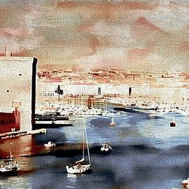 Jean Francois Gil - the Old Port of Marseille