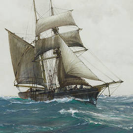 The Lonely Sea - Montague Dawson