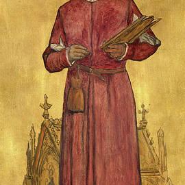 The painter Jan van Eyck - Albert De Vriendt