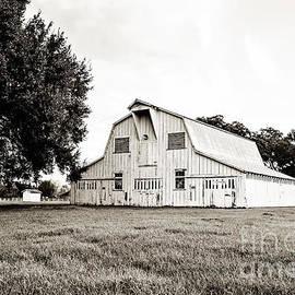 The White Barn - sepia by Scott Pellegrin