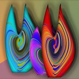 Iris Gelbart - Three Vases
