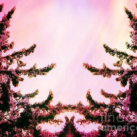 Brenda Plyer - Tree Embrace - Pink