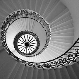 Tulip Staircase by Julian Perry