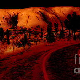 Tim Richards - Uluru Sunrise