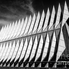 United States Air Force Academy Cadet Chapel 5 by Bob Christopher