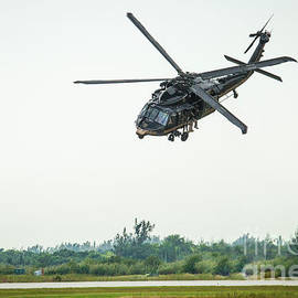 US Custom and Border Patrol Helicopter by Rene Triay Photography