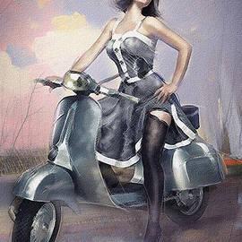 Vespa by Boghrat Sadeghan