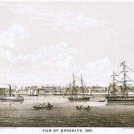 George Hayward - View of Brooklyn