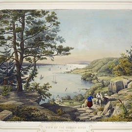 Karl Emil - View of the Hudson River from Fort Lee