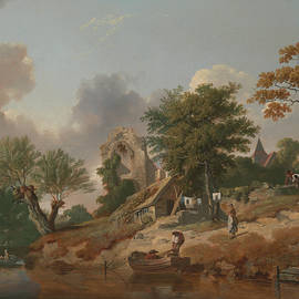 View on the Medway - Francis Wheatley