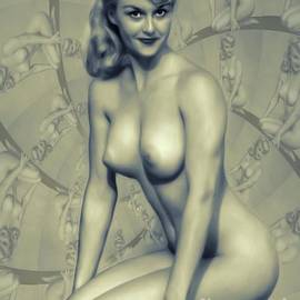 Vintage Pinup by MB - Mary Bassett
