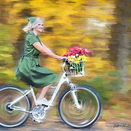 Vintage Val Bike Ride by Jill Wellington