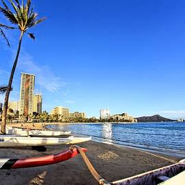 Waikiki Hawaii by DJ Florek