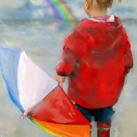 Rainbows Waiting for a rainbow. by Mark Tonelli