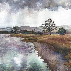 Anne Gifford - Walden Ponds on an April Evening
