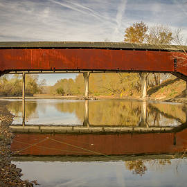West Union Covered Bridge by Jack R Perry