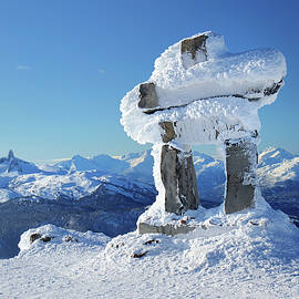 Whistler Mountain Inukshuk by Pierre Leclerc Photography