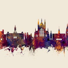 Michael Tompsett - Winchester England Skyline