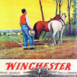 1919 Winchester Repeating Arms And Ammunition Calendar - Robert Wesley Amick