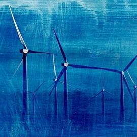 Werner Lehmann - Wind Turbines In Fog