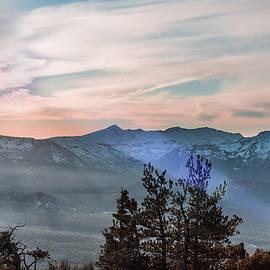 Winter Sky and Misty Mountain by Tran Boelsterli