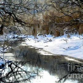 Elaine Manley - Winter Stream