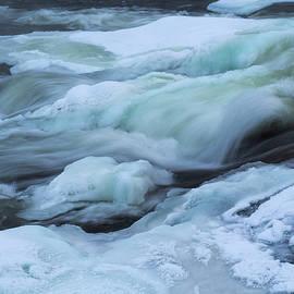 Tamara Sushko - Winter Waterfall