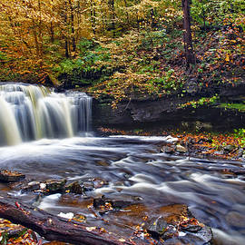 Wyandot Waterfall by Marcia Colelli