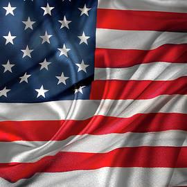 Les Cunliffe - USA flag