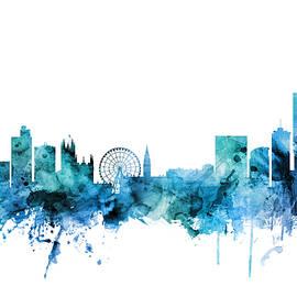 Manchester England Skyline - Michael Tompsett