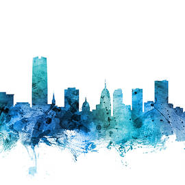 Michael Tompsett - Oklahoma City Skyline