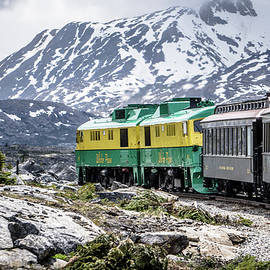 ALEX GRICHENKO - Scenic train from Skagway to White Pass Alaska