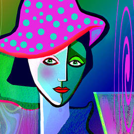Irmgard Schoendorf Welch - 1150 - Woman with a  Pocodot Hat ...