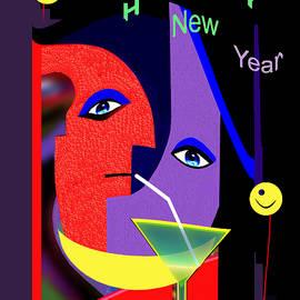 Irmgard Schoendorf Welch - 1189  Happy New Year