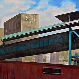 125th Street El by Bonnie See